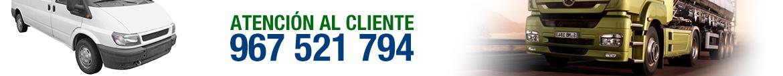 Atención al cliente. Llamanos al 967 521 794